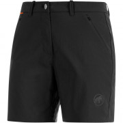 Női nadrág Mammut Hiking Shorts Women fekete
