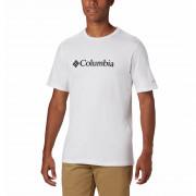 Férfi póló Columbia CSC Basic Logo Tee fehér