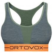 Sportmelltartó Ortovox 185 Rock'n'Wool Sport Top zöld