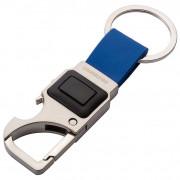 Munkees 3 funkciós kulcstartó ezüst/kék