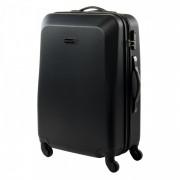 Gurulós bőrönd Hi-Tec Cork 72l fekete