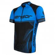 Pánský cyklistický dres Sensor Cyklo Team Up fekete/kék