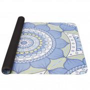 Jógamatrac Yate Yoga Mat přírodní guma kék/zöld
