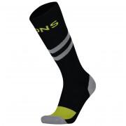 Férfi zokni Mons Royale Lift Access Sock fekete/szürke