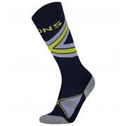 Női zokni Mons Royale Lift Access Sock kék/szürke