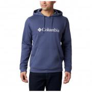 Férfi pulóver Columbia CSC Basic Logo Hoodie kék