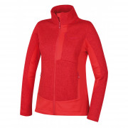 Női fleece pulóver Husky Alan L piros jemně červená