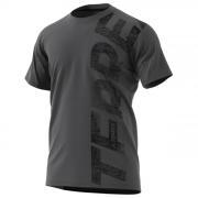 Férfi póló Adidas Trail Cross Tee sötétszürke