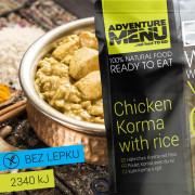 Adventure menu Csirke Korma rizzsel 400 g