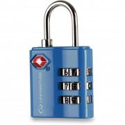 Számzáras lakat Lifeventure TSA Combi Lock kék Blue