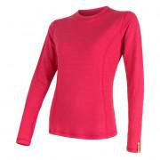 Női póló Sensor DF Merino Wool h. u. magenta rózsaszín magenta
