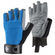 Sportkesztyű Black Diamond Crag Half-finger kék