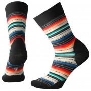 Női zokni Smartwool Women's Margarita fekete Black/Multi Stripe