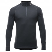Férfi garbó Devold Duo Active Man Zip Neck fekete Black