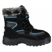 Gyerek téli cipő Alpine Pro Ento fekete