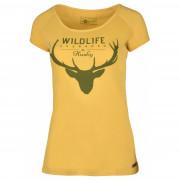 Dámské triko Husky Deer L sárga