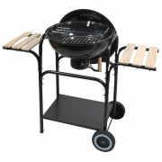 Faszenes grill Cattara Messina 46cm fekete