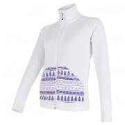 Női pulóver Sensor Tecnostretch Pattern fehér fehér
