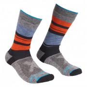 Férfi Zokni Ortovox All Mountain Mid Socks M kék/szürke