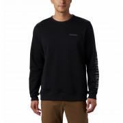 Férfi fleece pulóver Columbia Logo Fleece Crew fekete
