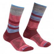 Női Zokni Ortovox All Mountain Mid Socks W piros/kék