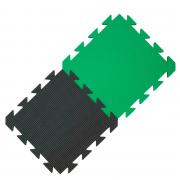 Yate habszivacs szőnyeg zöld/fekete