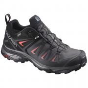 Női cipő Salomon X Ultra 3 Gtx W fekete/piros Magnet/Black/Mineral Red