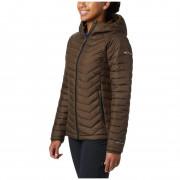 Női kabát Columbia Powder Lite Hooded Jacket zöld