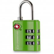 Számzáras lakat Lifeventure TSA Combi Lock zöld green