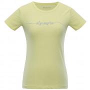 Női póló Alpine Pro Rozena 5 sárga