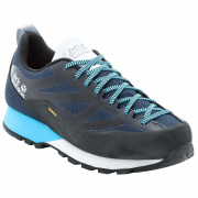 Női cipő Jack Wolfskin Scrambler 2 Texapore Low W fekete/kék