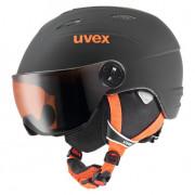 Sí bukósisak Uvex Junior Visor Pro fekete