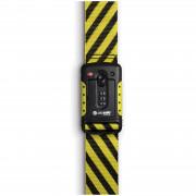 Záras hevder Pacsafe Strapsafe 100 fekete/sárga
