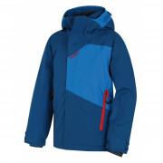 Gyerek téli kabát Husky Zort K kék