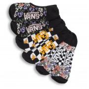 Női zokni Vans Wm Garden Variety Canoodles 6.5-10 3Pk fekete/fehér