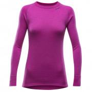 Női póló Devold Expedition Shirt W rózsaszín Fuchsia