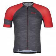Férfi kerékpáros mez Kilpi Selva-M piros