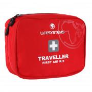 Elsősegélykészlet  Lifesystems Traveller First Aid Kit piros