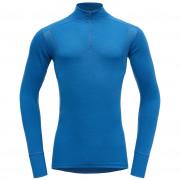 Férfi póló Devold Hiking Half Zip Neck kék