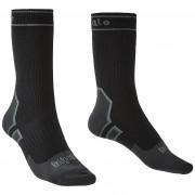 Férfi zokni Bridgedale Storm Sock LW Boot fekete