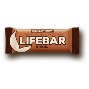 Energiaszelet Lifebar brazil RAW BIO 47 g