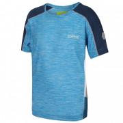 Dětské triko Regatta Takson II kék/fekete