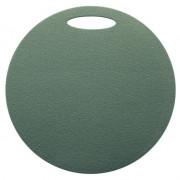 Ülő matrac Yate egyrétegű, kerek zöld