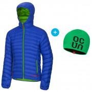 Férfi kabát Ocun Tsunami men kék/zöld