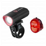 Kerékpátr lámpa szett Sigma Buster 300 + Nugget II. Flash