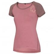 Női póló Ocún Bamboo T rózsaszín