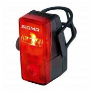 Hátsó kerékpár lámpa Sigma Cubic Flash fekete