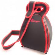 Hőszigetelő táska pánttal Baggie Set fekete/piros