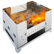 Faszenes grill Esbit BBQ 300S - rozsdamentes acél