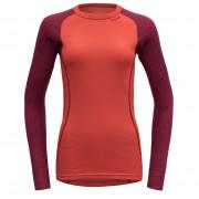 Női póló Devold Duo Active woman shirt piros